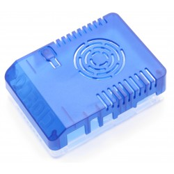 Housing for Odroid XU4 - blue transparent