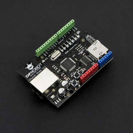 DFRobot Ethernet Shield W5200 - Ethernet extension for Arduino