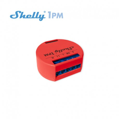 Shelly 1PM - relay switch with WiFi