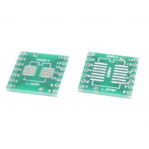 Adapter PCB SOP14 na DIP14