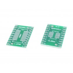 SOP20 PCB adapter for DIP20