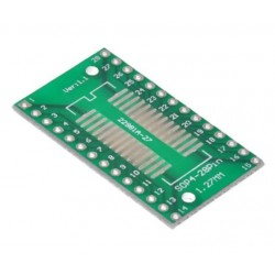 SOP28 PCB adapter for DIP28