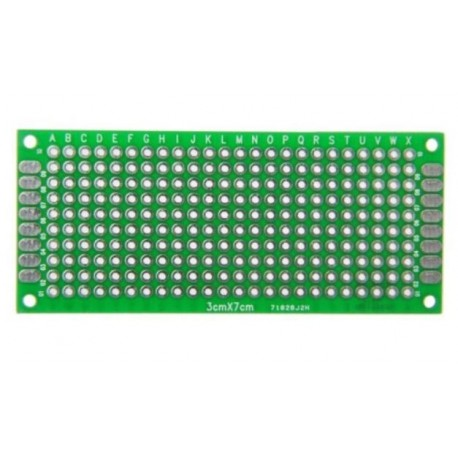 Double-sided universal plate 240 holes