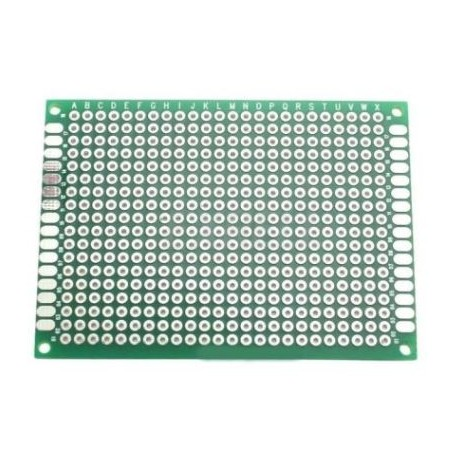 Double-sided universal plate 432 holes
