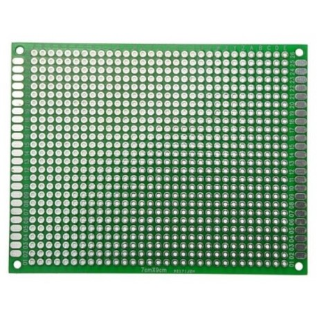 Double-sided universal plate 806 holes