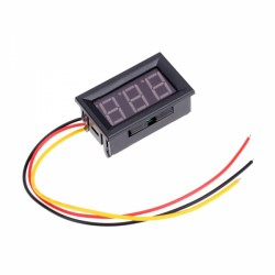 Digital LED panel voltmeter 0-99,9V