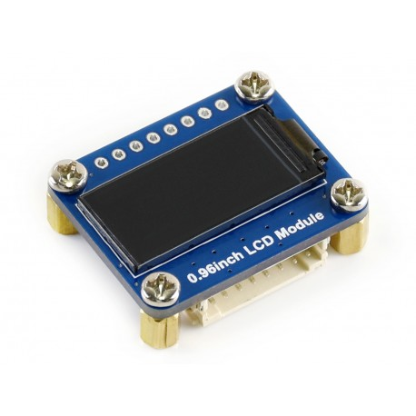 """Waveshare module of the color LCD display 0.96 """"160x80 px"""