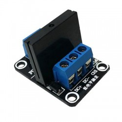 SSR 240V/2A relay module with fuse