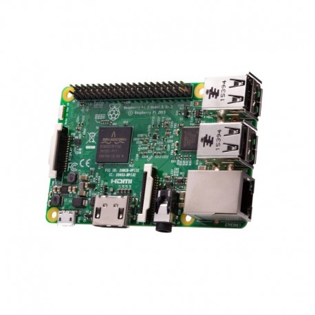 Raspberry Pi 3 model B - komputer z BCM2837 i 1GB RAM