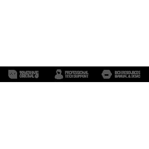 Forerunner - podwozie robota gąsienicowego (zestaw do montażu)