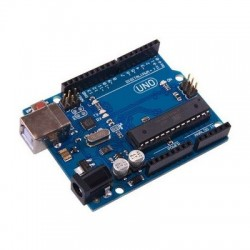 Arduino UNO R3 (equivalent) - board with ATmega328 microcontroller