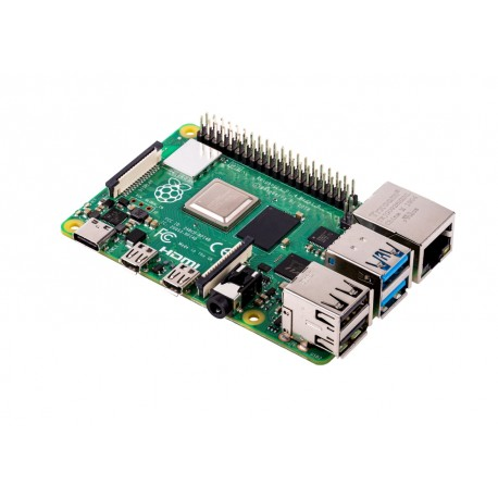 Raspberry Pi 4 model B z 4GB RAM, Dual Band WiFi, Bluetooth 5.0, 1.5GHz