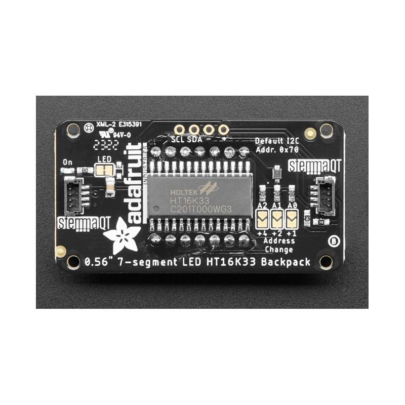 DFRobot Gravity Moduł z cyfrową diodą RGB LED (widok z góry)