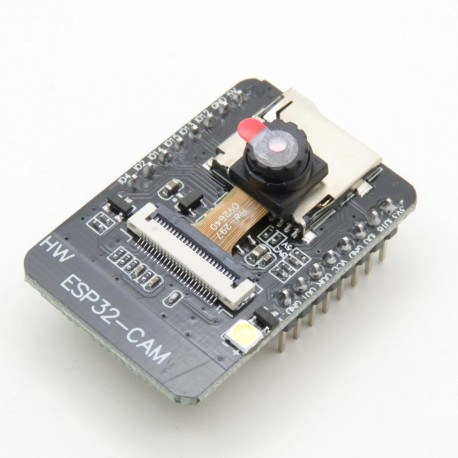 Kit with evaluation board with ESP32 module and OV2640 camera