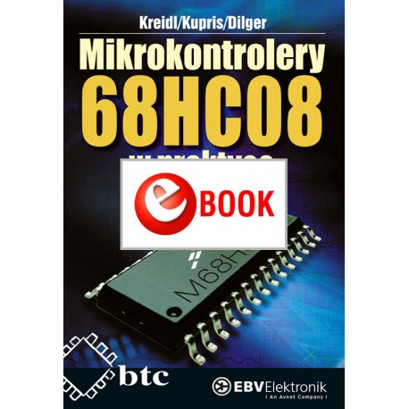 68HC08 microcontrollers in practice (e-book)