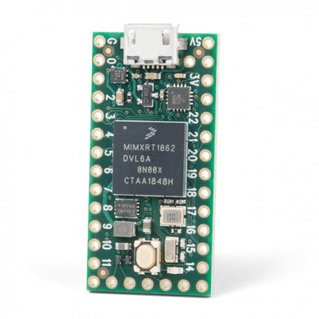 Teensy 4.0 with ARM Cortex M7 processor - compatible with Arduino
