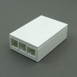 Case for Raspberry Pi 4B (white)