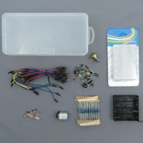 Starter kit for Arduino - contact plate + components