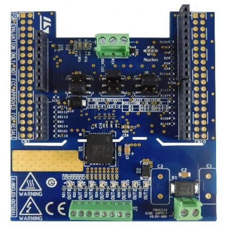 X-NUCLEO-OUT02A1 - expansion board with 8 relay outputs