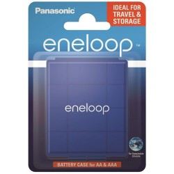 Universal container for Panasonic Eneloop R6/AA and R03/AAA batteries