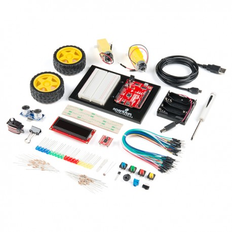SparkFun Inventor's Kit - v4.1 - Starter kit with SparkFun RedBoard Qwiic