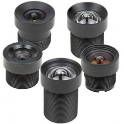 Arducam Low Distortion M12 mount camera lens kit