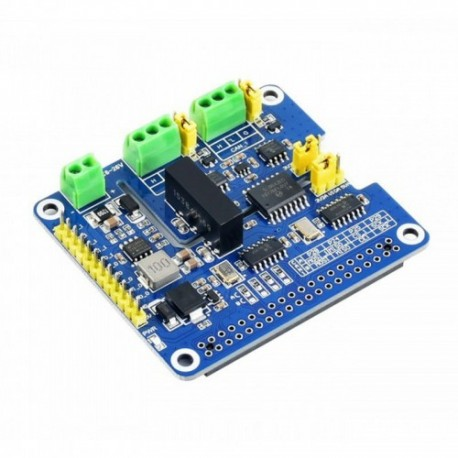 Raspberry Pi HAT with 2-channel CAN FD converter