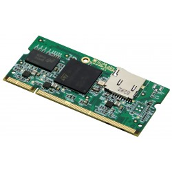 VisionSOM-STM32MP1 - module with STM32MP1 processor, 512MB RAM, microSD socket and WiFi/BT module
