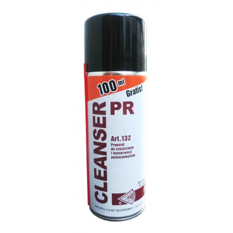 Potentiometer Cleanser 400ml - spray for maintenance of potentiometers