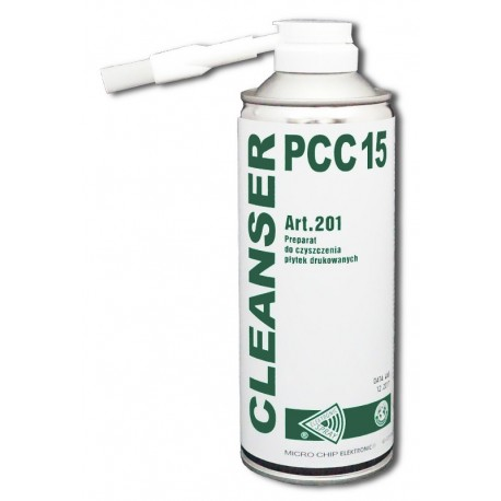 Cleanser PCC 15 400ml - preparation for cleaning printed circuit boards - Sklep Kamami