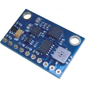 Mod10DOF - 10-osiowe IMU z akcelerometrem, żyroskopem, kompasem i barometrem