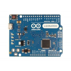 Arduino Leonardo - board with ATmega32U4 microcontroller WITHOUT Headers