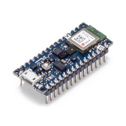 Arduino Nano 33 BLE Sense (with headers) - board with nRF52840 microcontroller, BLE module and sensors