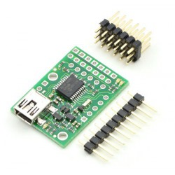 Pololu 1351 - Micro Maestro 6-Channel USB Servo Controller (Partial Kit)