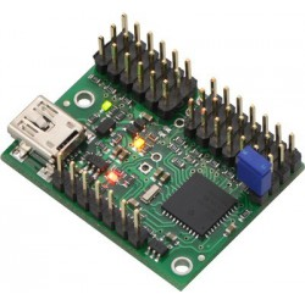 12-kanałowy kontroler ruchu serwomechanizmów USB