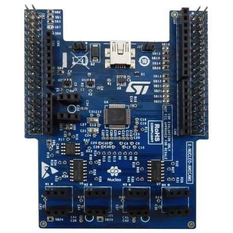 X-NUCLEO-AMICAM1 - expansion board for MEMS analog microphones