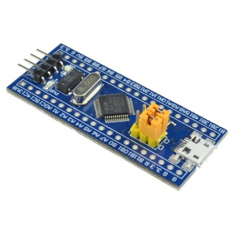 STM32F103C8T6 Bluepill - evaluation kit with STM32F103C8T6 microcontroller