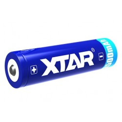 Li-Ion Xtar 18650 3,6V 3500mAh battery with protection