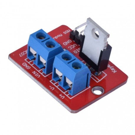 Module with IFR520 MOSFET
