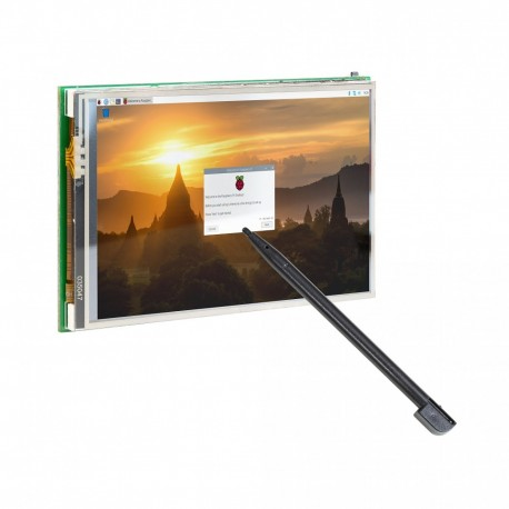 "LCD 3.5"" 480x320 display with touch screen for Raspberry Pi"