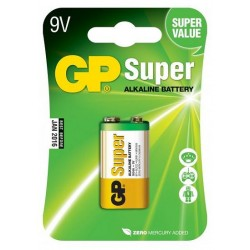 6F22 9V GP Super alkaline battery