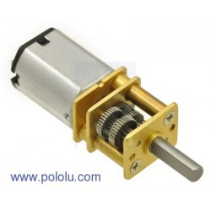 1000:1 6V HP - miniaturowy silnik z przekładnią