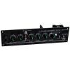 """Pololu 1501 - Pololu 5"""" Robot Chassis RRC04A Solid Black"""
