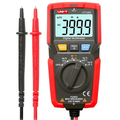 UT125C - Universal multimeter by Uni-T