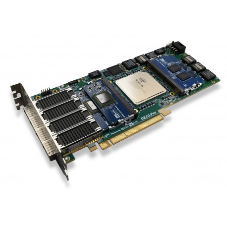 DE10-Pro-SX-280-16GB - Development kit with Intel Stratix 10 SX FPGA and 16GB RAM