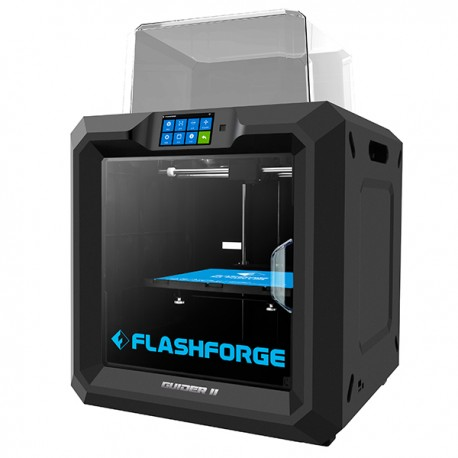 Flashforge Guider II - Industrial 3D printer with USB, WiFi and Cloud