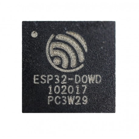 ESP32-D0WD - ESP32 integrated circuit with Wi-Fi and Bluetooth BLE from Espressif