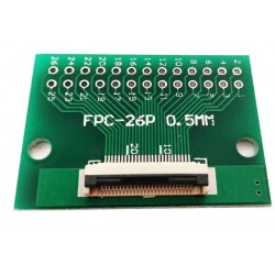 FPC/FFC 0.5mm 26-pin to DIP adapter