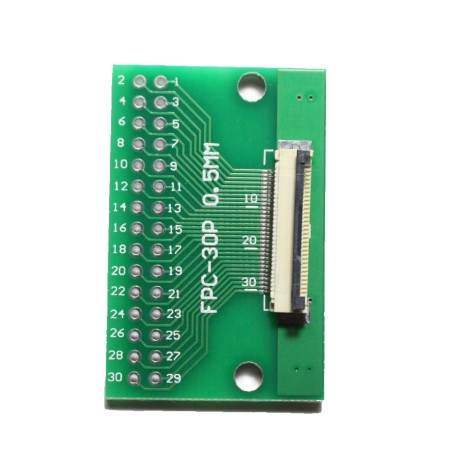FPC/FFC 0.5mm 30-pin to DIP adapter