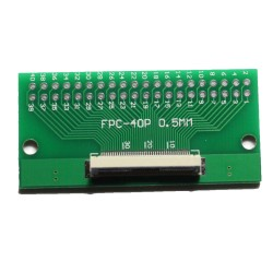 FPC/FFC 0.5mm 40-pin to DIP adapter
